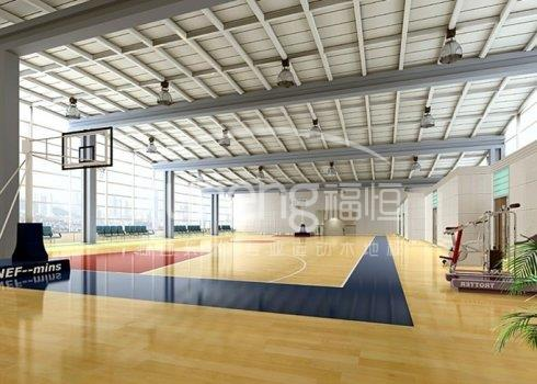 篮球馆为什么要用运动木地板