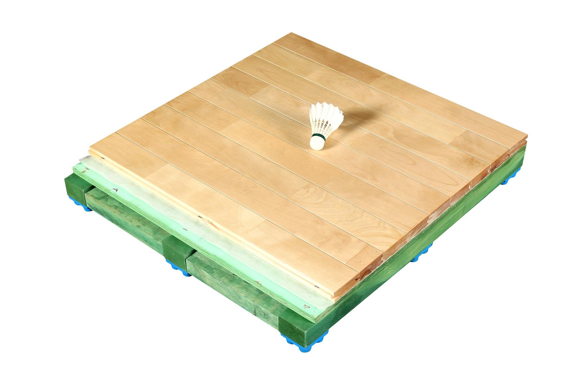篮球馆实木地板多少钱一个平方
