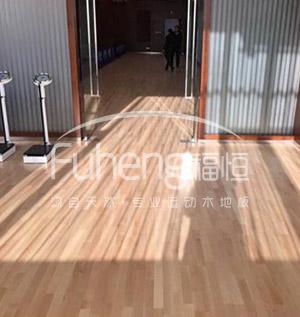 健身馆运动木地板