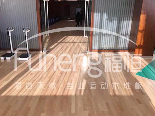 健身馆体育木地板|健身房运动木地板——福恒润德