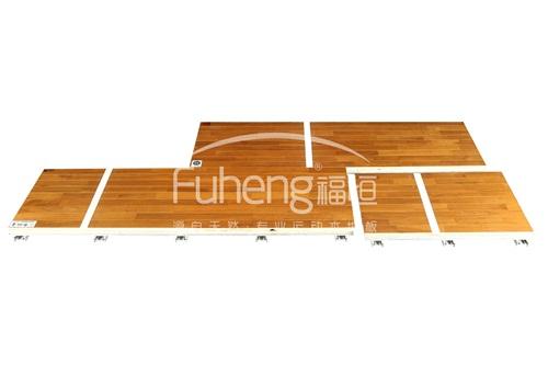 可拆装木地板