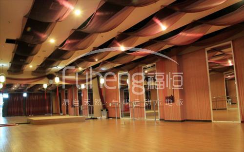 北京动岚健身健身房木地板工程