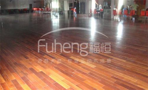 北京首钢舞台木地板