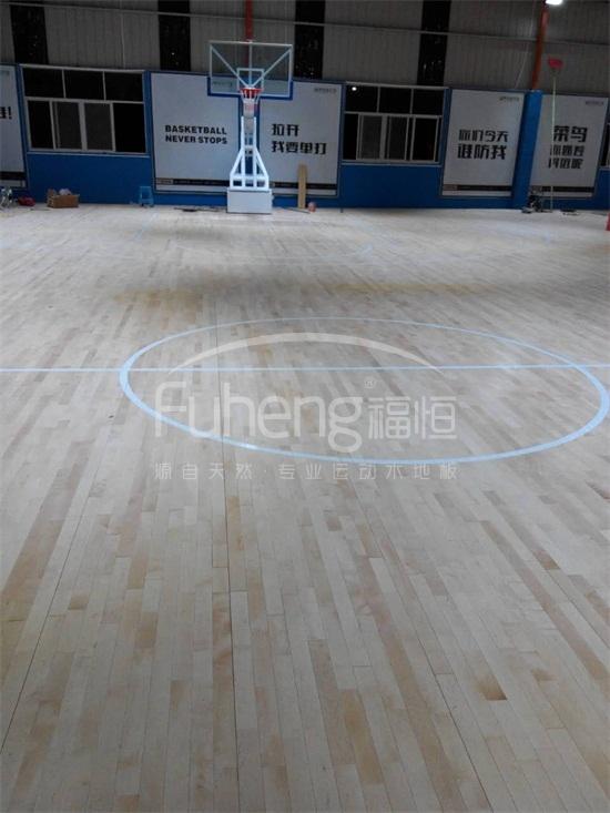 福州博瑞篮球馆运动木地板
