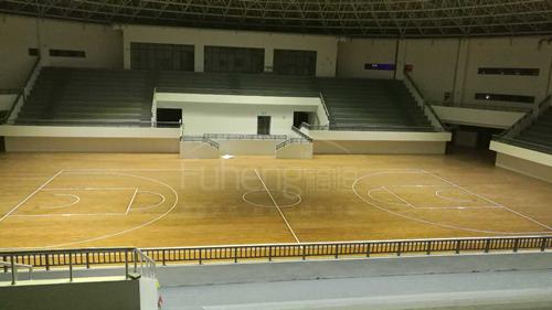 合肥幼儿师范学院篮球场木地板铺设工程